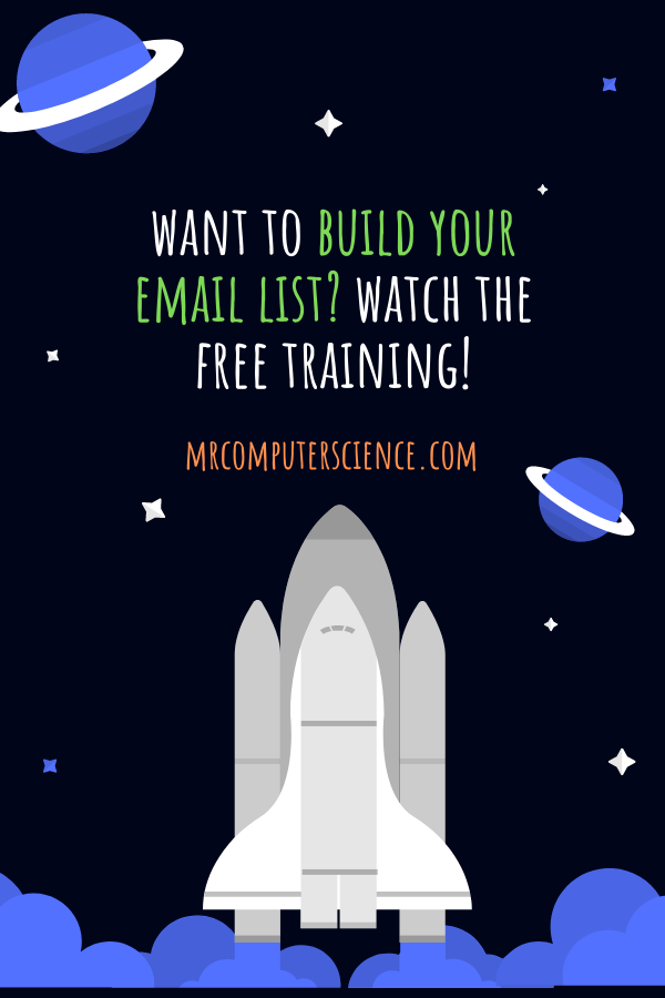 Email List Building Class