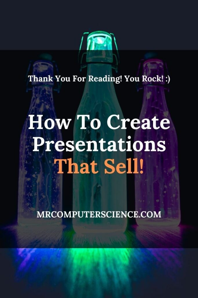 How To Create Presentations That Sell