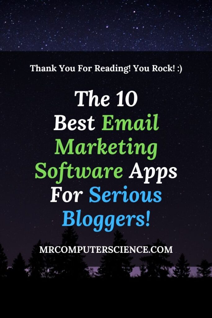 The 10 Best Email Marketing Software Apps For Serious Bloggers And Business Owners